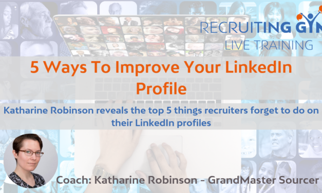 Improve Your Linkedin Profile in 30 Minutes