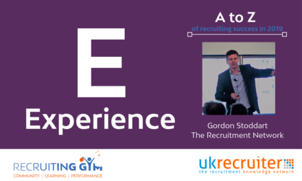 "Why ""experiences"" are the key to a Recruiters success"