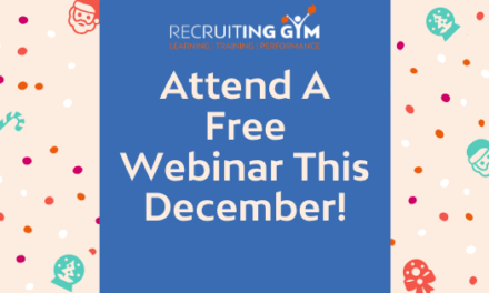 December Webinar Schedule: Free Spaces Available!