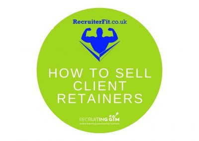 How To Sell Client Retainers