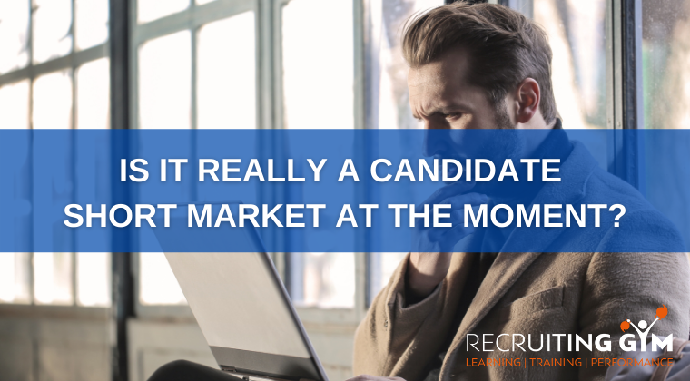 Is it really a candidate short market at the moment?